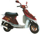 50cc 1E40QMB 2-stroke Scooter Parts