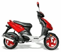 Vento Triton R4 and GT5 Scooter Parts