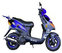 Vento Zip R3i and GT5 Scooter Parts