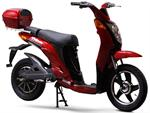 EW-500 Electric Moped Red