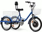 EW-88-LA Electric Trike Blue