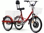 EW-88-LA Electric Trike Red