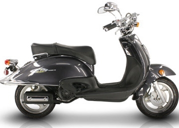 Milano - Vespa Style 150cc Scooter Moped