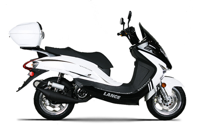 Lance Powersports Scooter F4 Intercept All Pictures