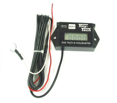 Tiny-Tach Digital Tachometer and Hour Meter