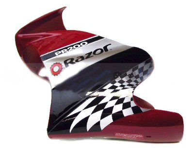 Neoscooters Pr200 Red Front Fairing Razor Electric