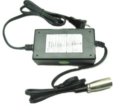 24 Volt 2 Amp Electric Scooter Charger