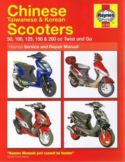 Haynes Chinese Scooter Manual