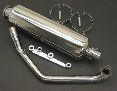 GY6 Performance Exhaust