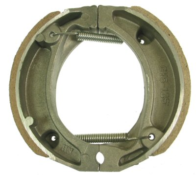 50cc, 2-stroke Rear Brake Shoes