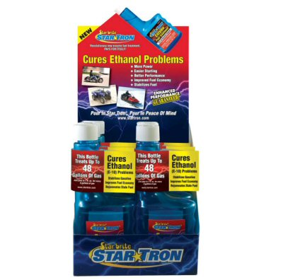 Star Tron Enzyme Fuel Treatment Gas Additive 8 oz Display Pack