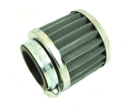 Compact Chrome Performance Air Filter