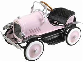 Deluxe Roadster Pedal Car Pink