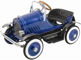 Deluxe Roadster Pedal Car Blue