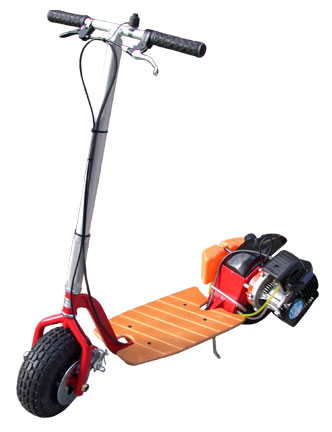 How to Build a Motorized Scooter | eHow.com