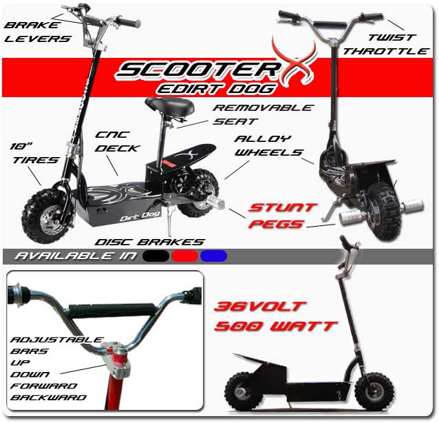 Scooterx Electric Dirt Dog
