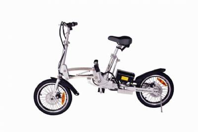 NEW 2015 City Express Super Folding Lithium Electric Bicycle