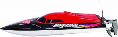 MAGIC VEE MK.2 RC BOAT RTR 2.4G, RED