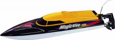 MAGIC VEE MK.2 RC BOAT RTR 2.4G, YELLOW