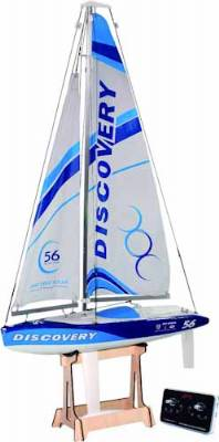 DISCOVERY RC SAILBOAT RTR 2.4G, BLUE
