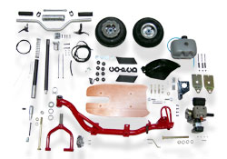 Team Go-Ped � Pro 60cc Gas Scooter Kit