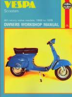 Vespa Scooters Haynes Repair Manual