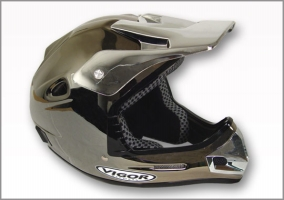 Vigor Vamoose II Chrome Helmet